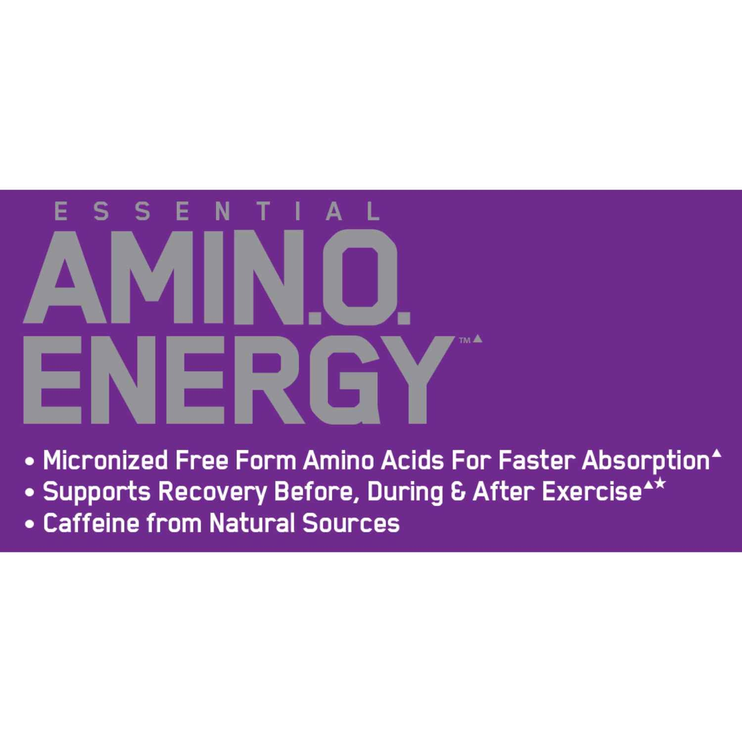 Optimum Nutrition (ON) Amino Energy – 1.29 LB, Concord Grape (On Offer)