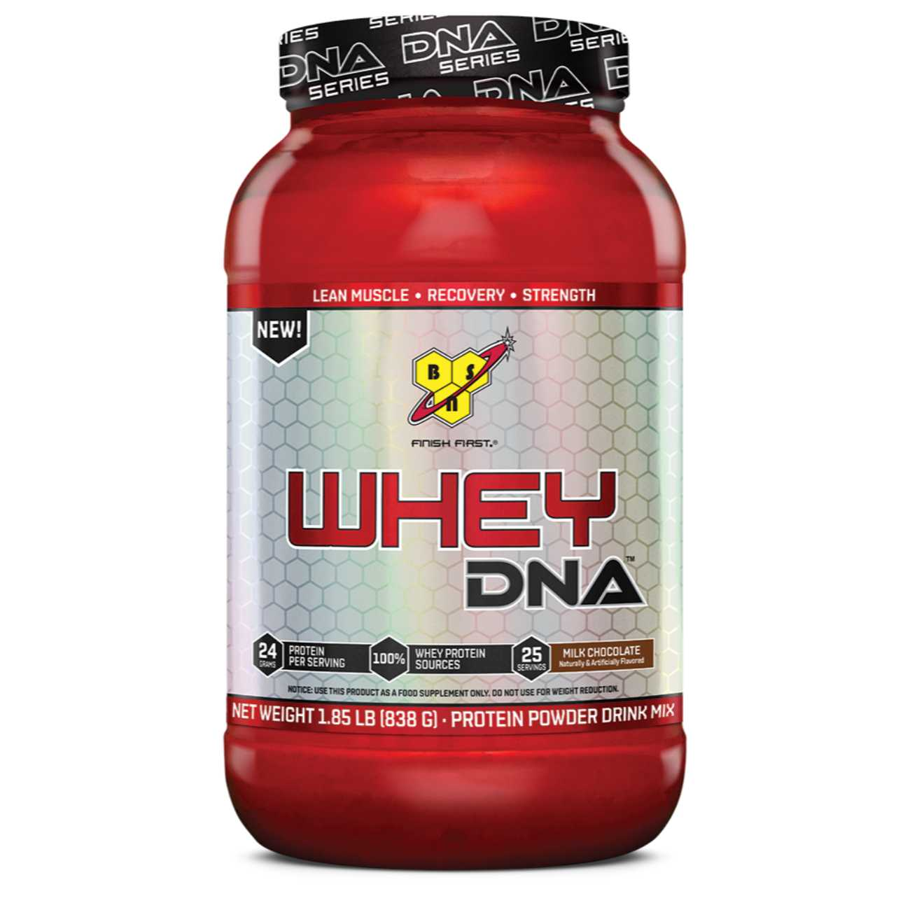 BSN Whey Protein DNA – 1.8 Lb, Chocolate