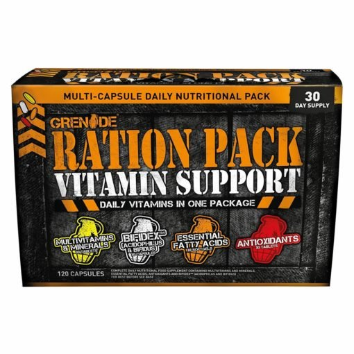 Grenade Ration Pack Vitamin Support – 120 caps