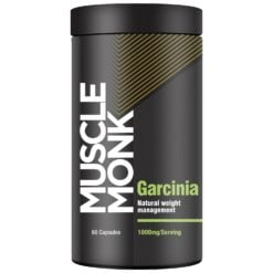 Muscle Monk Garcinia - Manage Weight Naturally with 60% HCA