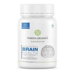 Foresta Organics Brain Health with Brahmi, Shankhpushpi & Gingko Biloba